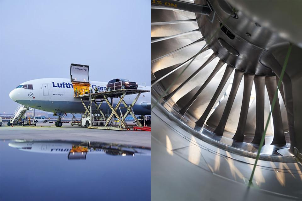 Code Red. Lufthansa Cargo planet Slide 02