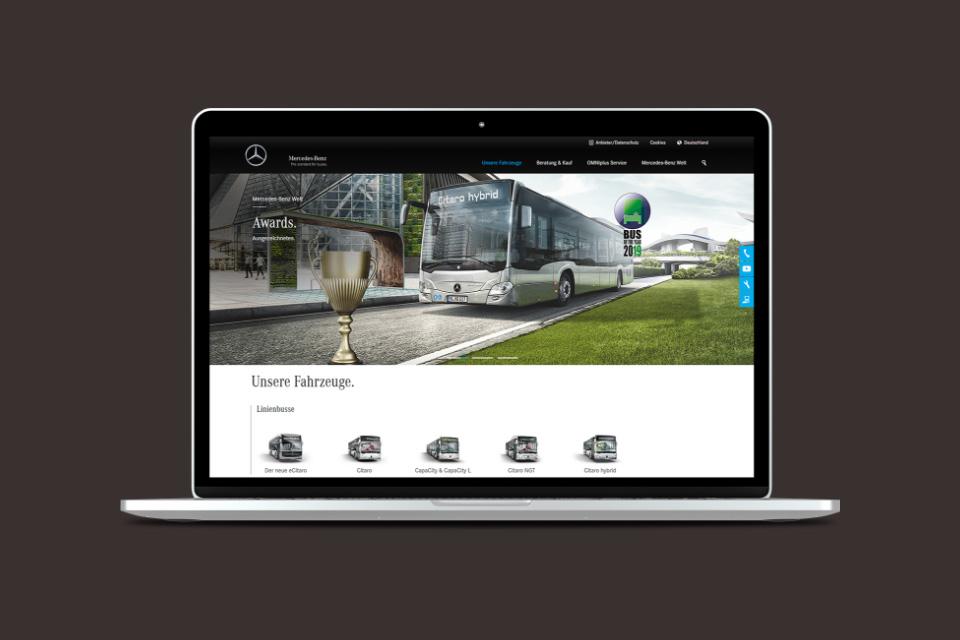 Code Red. Mercedes-Benz Buses Online Slide 03