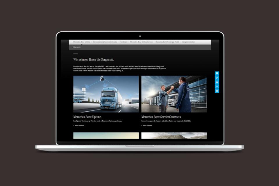 Code Red. Mercedes-Benz Trucks Online Slide 03