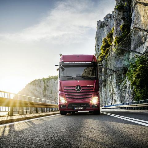 Code Red. Mercedes-Benz Trucks Online Teaser